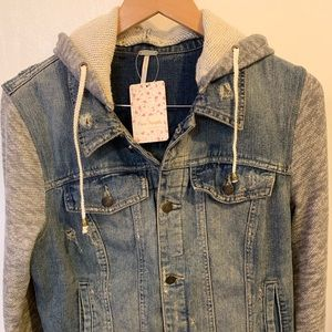 NWT   Free people Cotton jacket